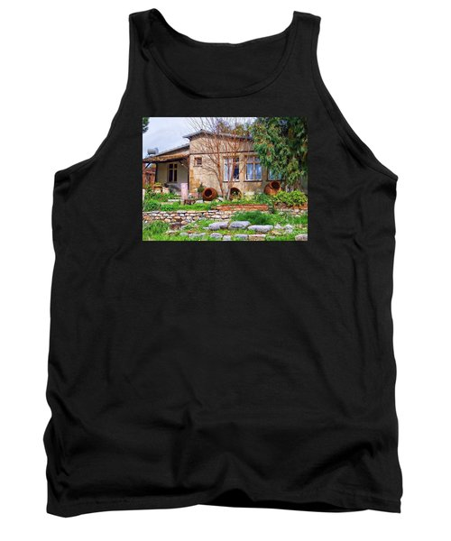 Tank Top featuring the photograph Home In Greece by Roberta Byram