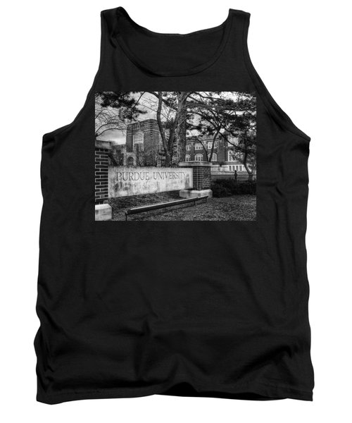 Tank Top featuring the photograph Home Of The Boilers by Coby Cooper