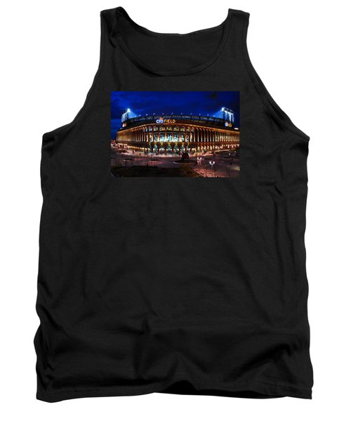 Tank Top featuring the photograph Home Of The Mets by James Kirkikis