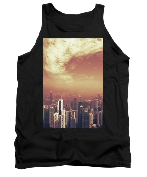 Hong Kong Portrait Tank Top by Joseph Westrupp
