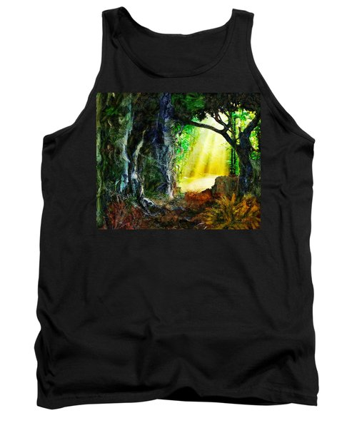 Tank Top featuring the digital art Hope by Francesa Miller
