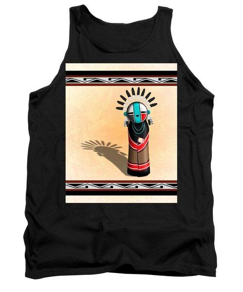 Hopi Sun Face Kachina Tank Top