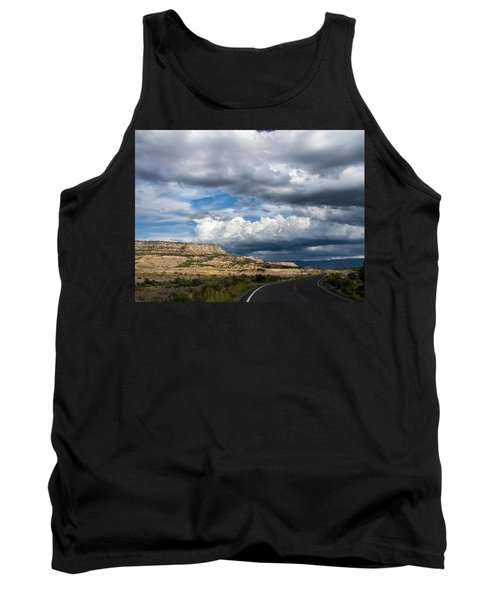 Horse Canyon By De Beque Colorado Tank Top