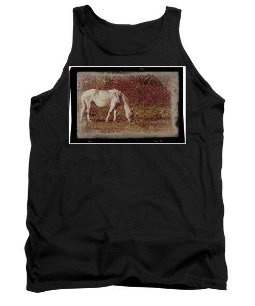 Horse Grazing Tank Top