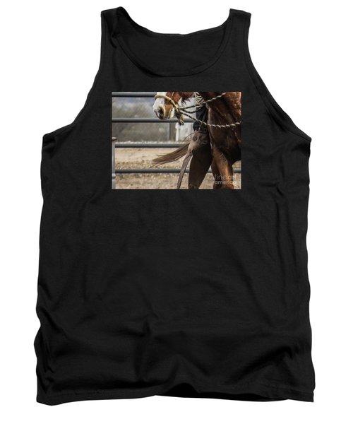 Horse In Hackamore Tank Top