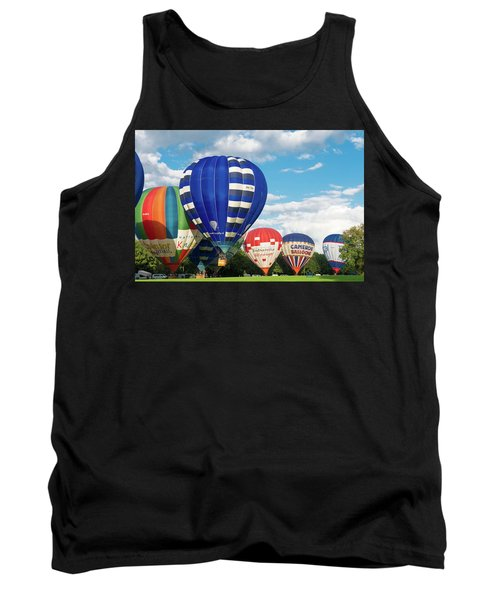 Hot Air Balloons Tank Top by Hans Engbers