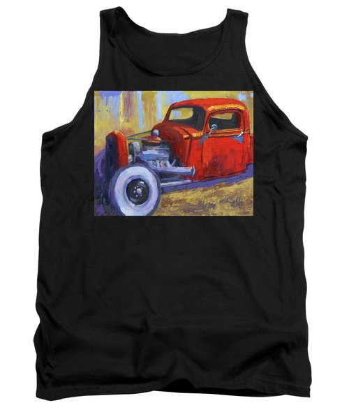 Hot Rod Chevy Truck Tank Top