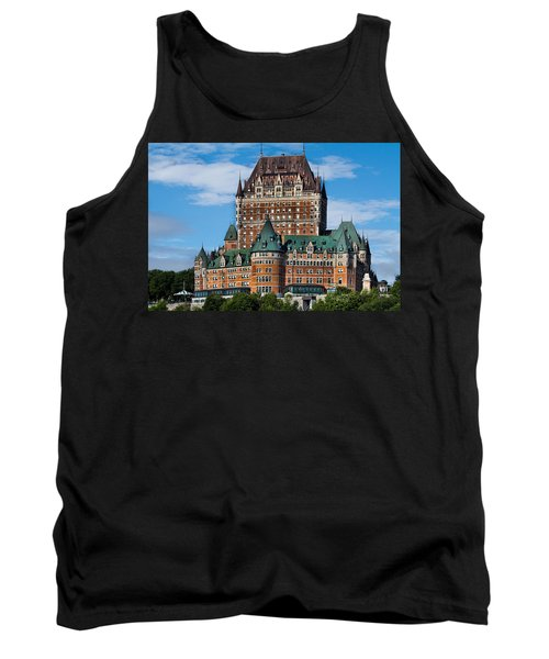 Chateau Frontenac In Quebec City Tank Top