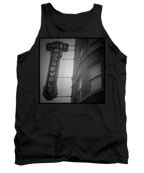 Tank Top featuring the photograph Hotel Roosevelt by Kyle Hanson