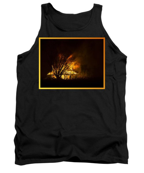 House Fire Tank Top
