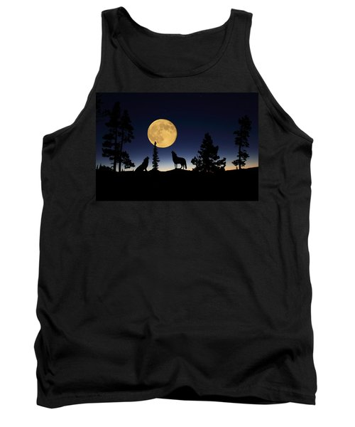 Howling At The Moon Tank Top