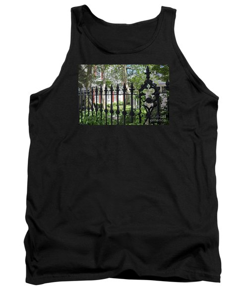 Tank Top featuring the photograph Huguenot Church Cemetery by Gina Savage
