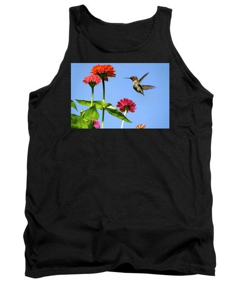 Hummingbird Happiness Tank Top