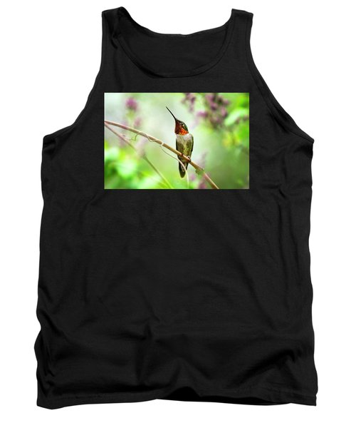 Hummingbird Looking For Love Tank Top