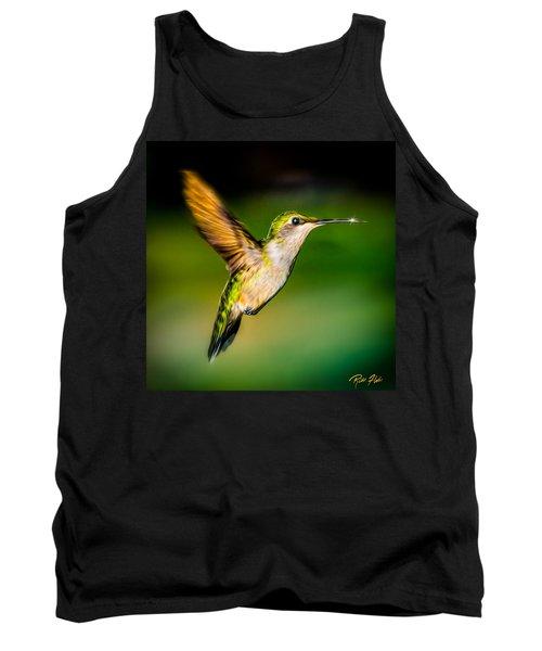 Hummingbird Sparkle Tank Top