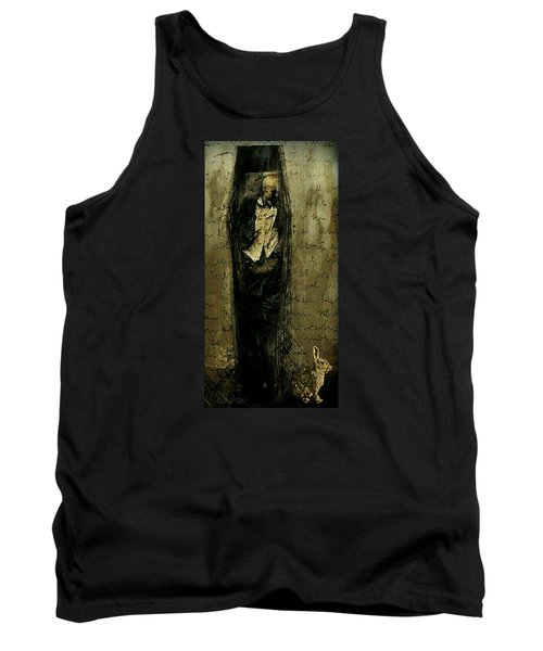 Tank Top featuring the digital art Hungry Man by Delight Worthyn