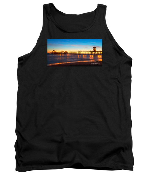 Huntington Beach Pier - Twilight Tank Top