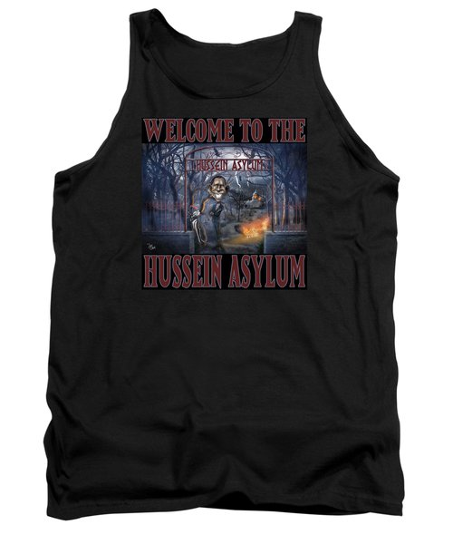 Tank Top featuring the photograph Hussein Assylum by Don Olea