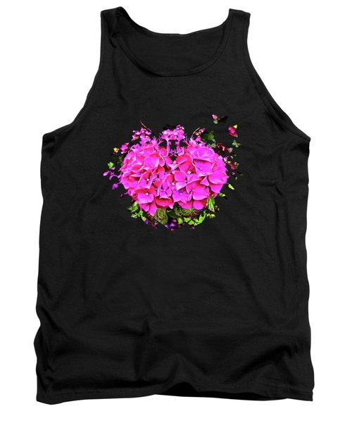 For The Love Of Hydrangeas Tank Top