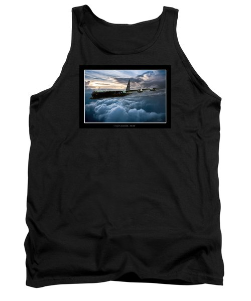 I Am Legend B-52 V2 Tank Top by Peter Chilelli
