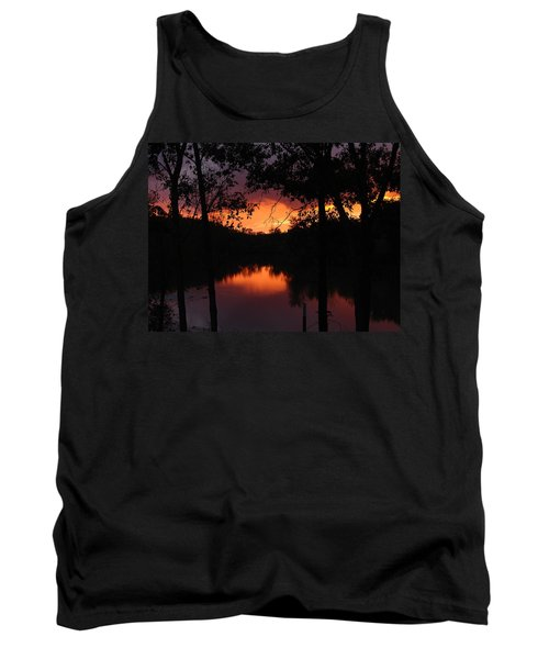 Tank Top featuring the photograph I Found Red October by J R Seymour