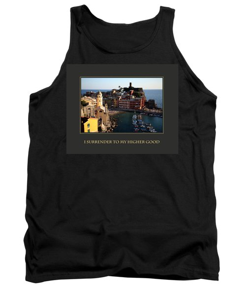 Tank Top featuring the photograph I Surrender To My Higher Good by Donna Corless
