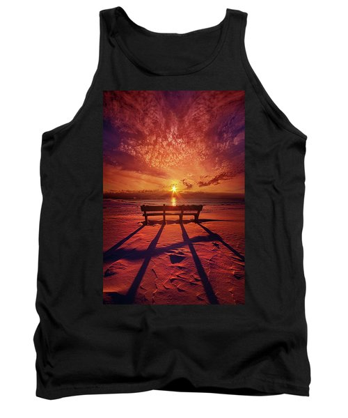 I Will Always Be With You Tank Top by Phil Koch