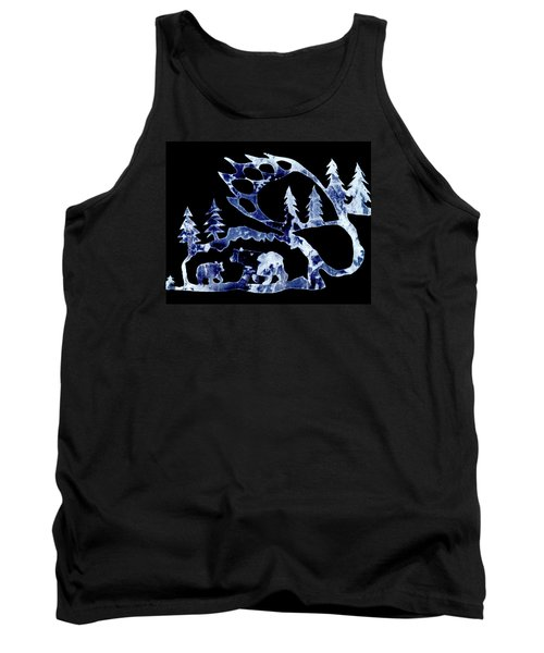 Ice Bears 1 Tank Top by Larry Campbell