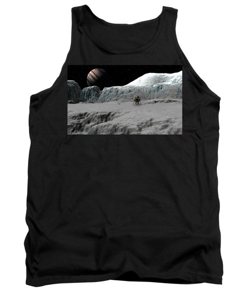 Ice Cliffs Of Europa Tank Top