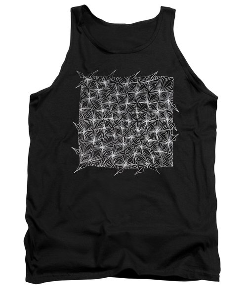 Ice Crystal Abstract  Tank Top