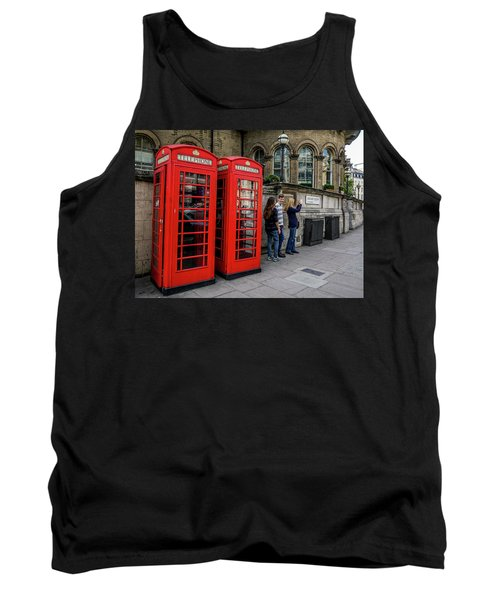 Iconic Booth Tank Top