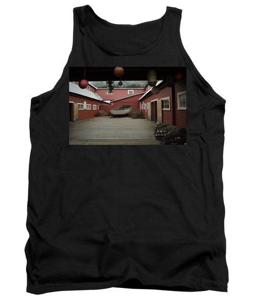 Icy Strait Point Cannery Museum Tank Top