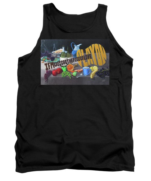 If Music Be The Food Of Love Play On Tank Top