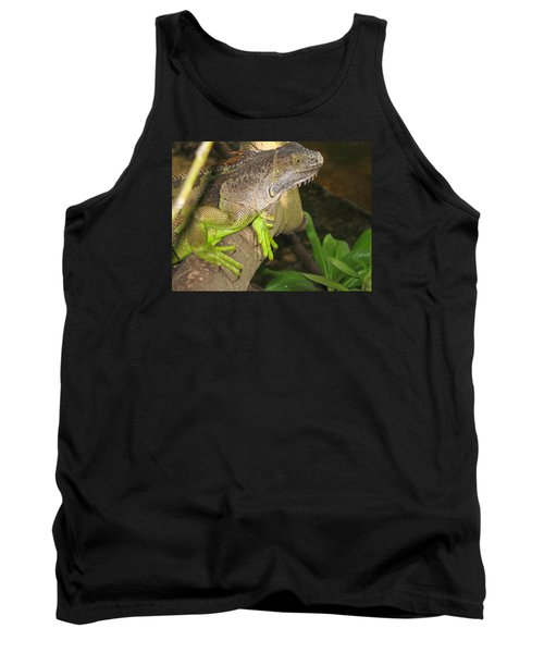 Iguana - A Special Garden Guest Tank Top by Christiane Schulze Art And Photography