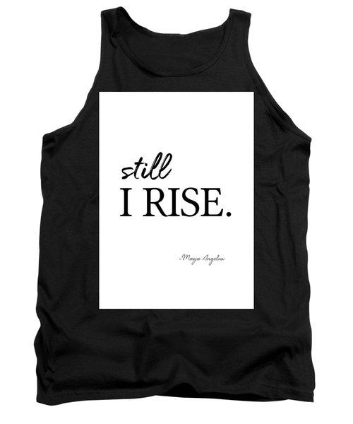 I'll Rise #minimalism 3 Tank Top