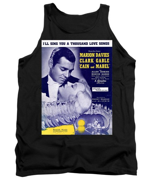 I'll Sing You A Thousand Love Songs Tank Top