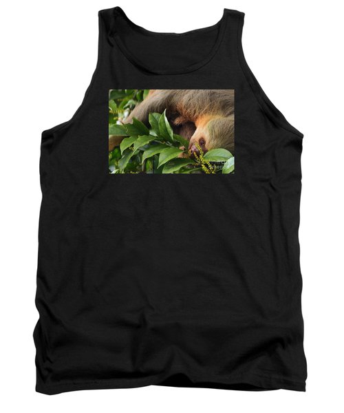 I'm Trying To Eat Here Tank Top by Pamela Blizzard