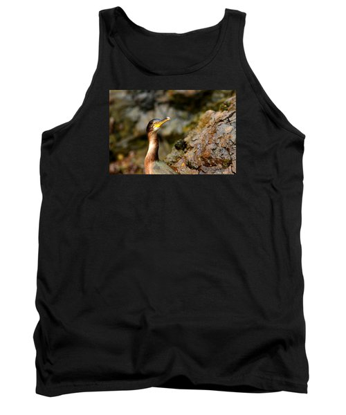 Tank Top featuring the photograph Immature Shag by Richard Patmore