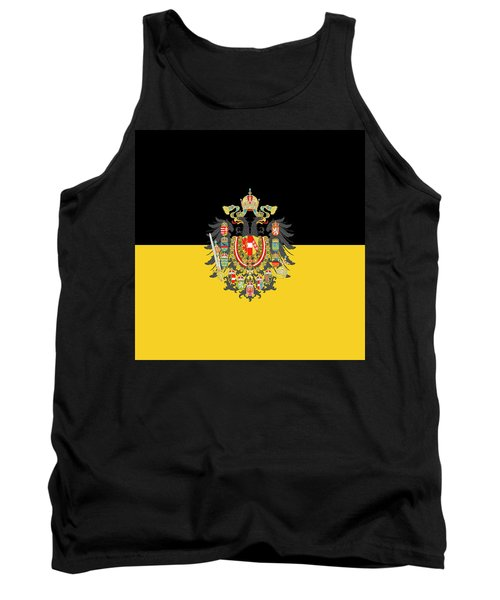 Habsburg Flag With Imperial Coat Of Arms 1 Tank Top