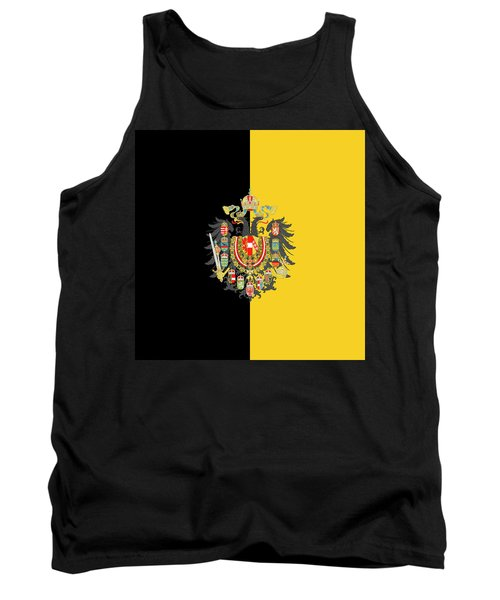Habsburg Flag With Imperial Coat Of Arms 2 Tank Top