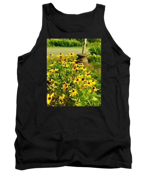 Impressions Of A Country Garden Tank Top