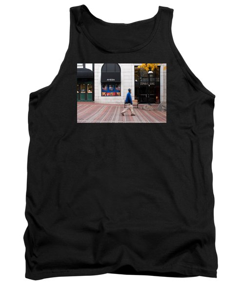 Tank Top featuring the photograph In A Hurry by Monte Stevens