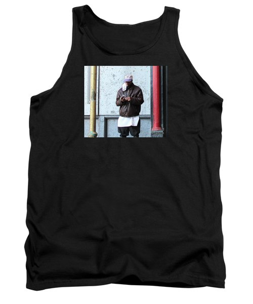 Tank Top featuring the photograph In Between by Joe Jake Pratt