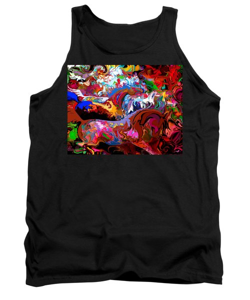 Tank Top featuring the digital art In Dreams by Loxi Sibley