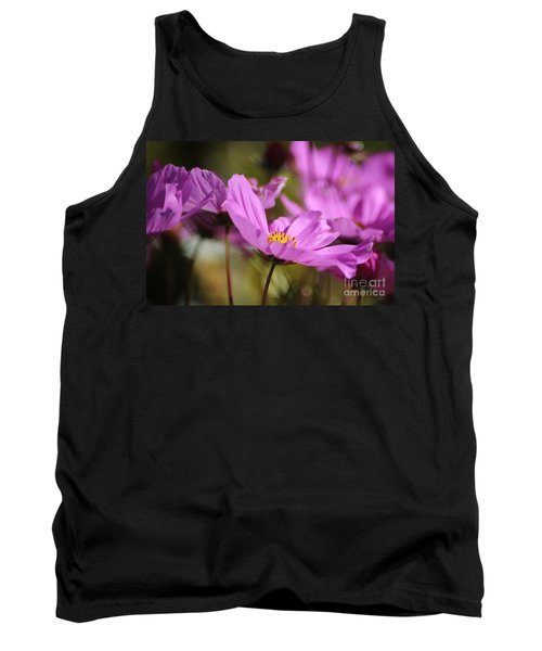 In Full Bloom Tank Top by Sheila Ping