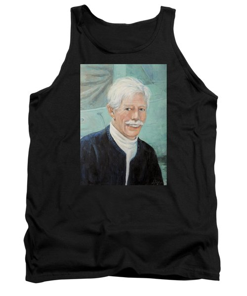 Tank Top featuring the painting In Memory Of Uncle Bud by Donna Tucker