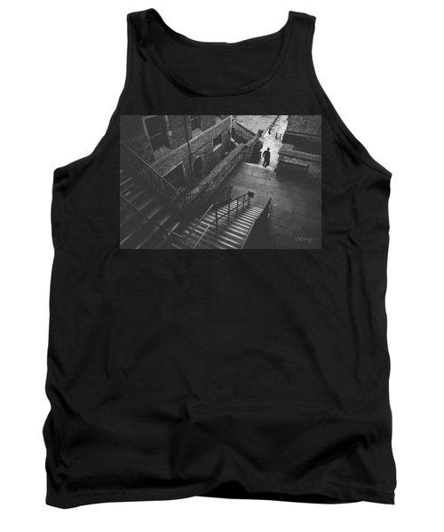In Pursuit Of The Devil On The Stairs Tank Top by Joseph Westrupp
