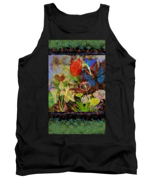 In The Garden With Love Tank Top