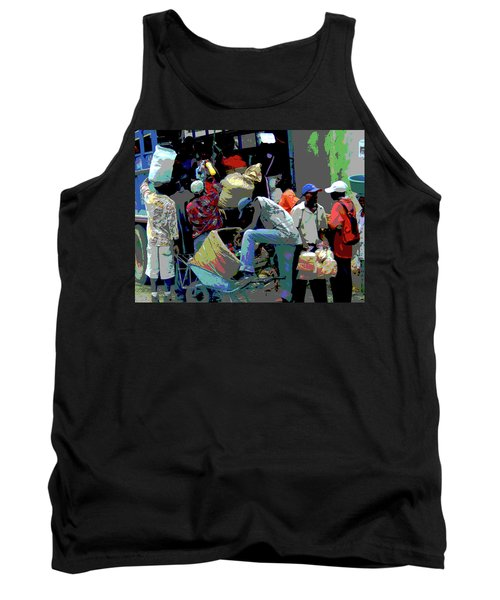 In The Market Place Tank Top by B Wayne Mullins