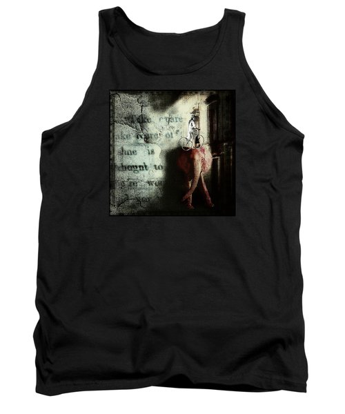 Tank Top featuring the digital art In The Night Nursery by Delight Worthyn